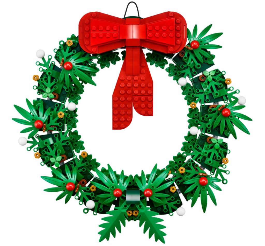 LEGO 40426 Christmas Wreath 2 in 1 build 1