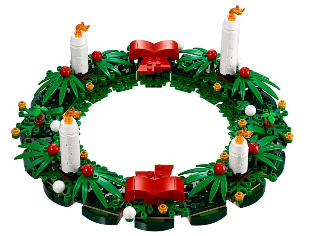 LEGO 40426 Christmas Wreath 2 in 1 build 2
