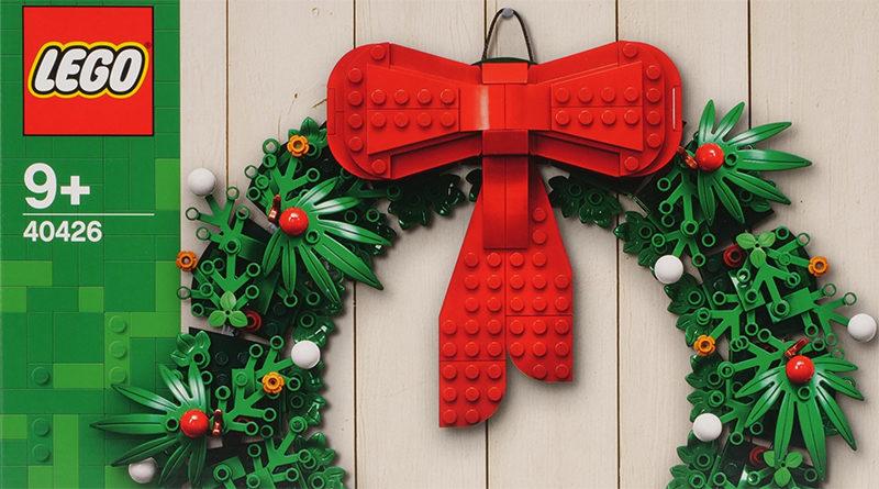 LEGO 40426 Wreath featured
