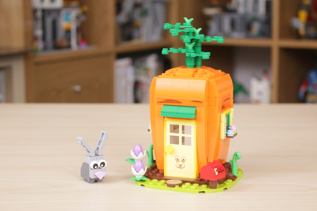 LEGO 40449 Easter Bunnys Carrot House GWP review 1