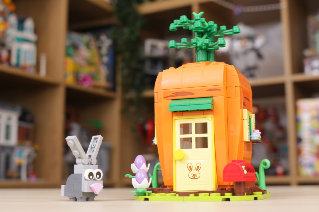 LEGO 40449 Easter Bunnys Carrot House GWP review 14