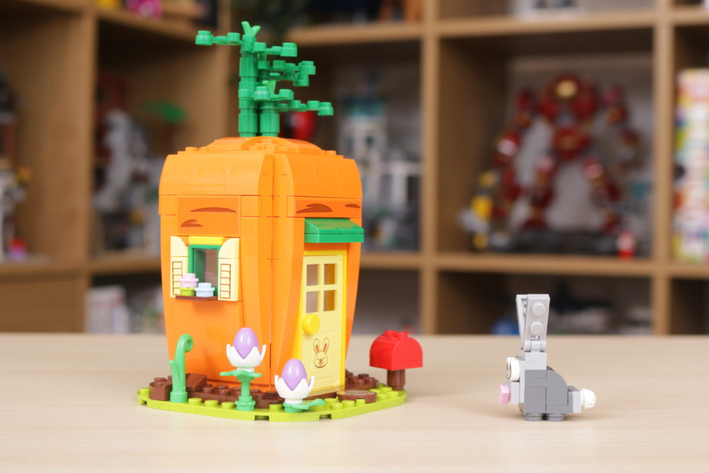 LEGO 40449 Easter Bunnys Carrot House GWP review 15