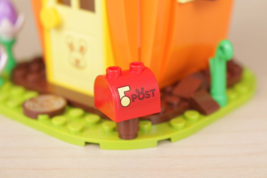 LEGO 40449 Easter Bunnys Carrot House GWP review 3