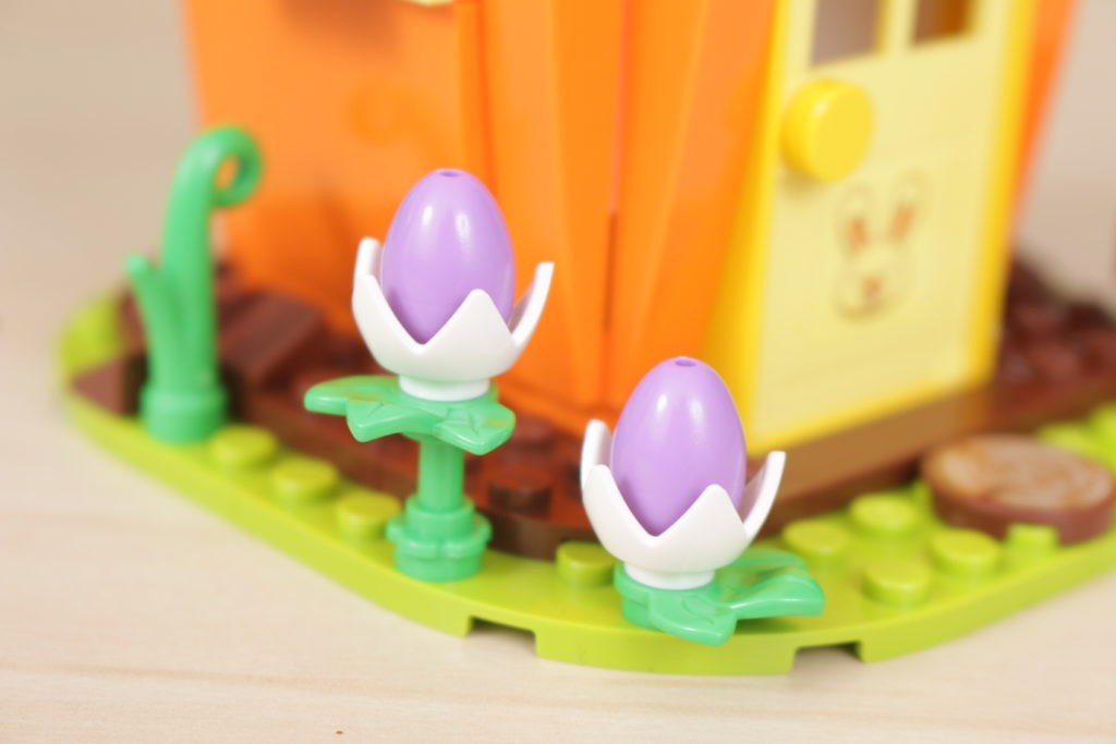 LEGO 40449 Easter Bunnys Carrot House GWP review 7