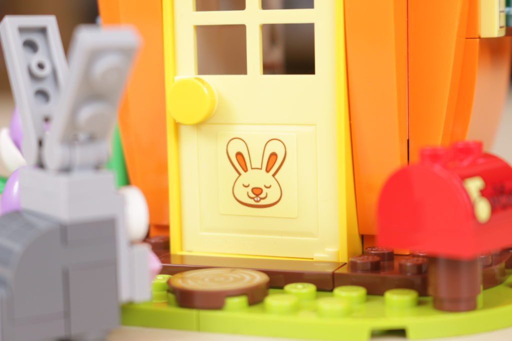 LEGO 40449 Easter Bunnys Carrot House GWP review 8
