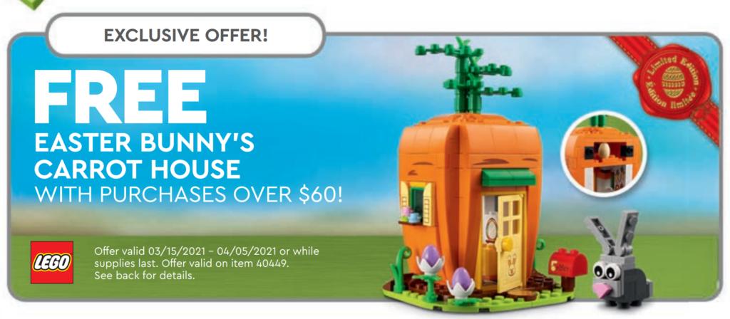 LEGO 40449 offer calendar