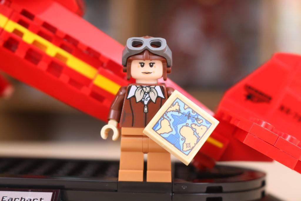 LEGO 40450 Amelia Earhart Tribute GWP Review 4