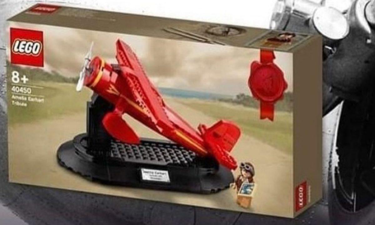 40450 for sale online LEGO Amelia Earhart Tribute