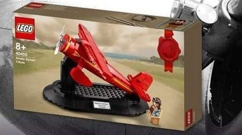 LEGO 40450 Amelia Earhart Tribute ad featured