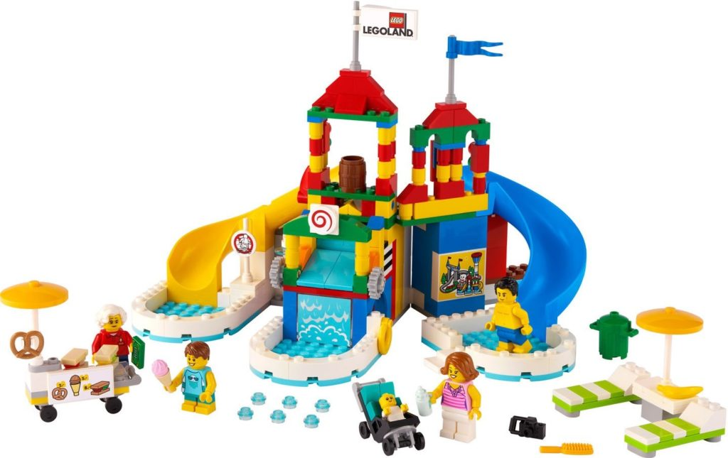 LEGO 40473 Water Park Contents