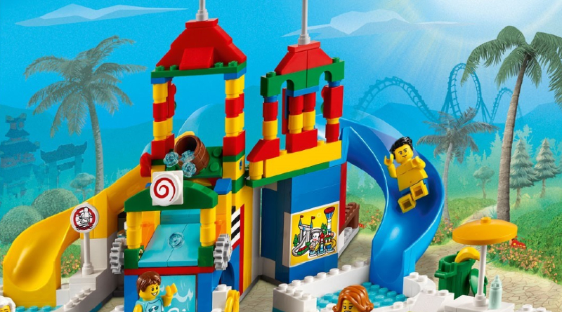 LEGO 40473 Water Park Featured