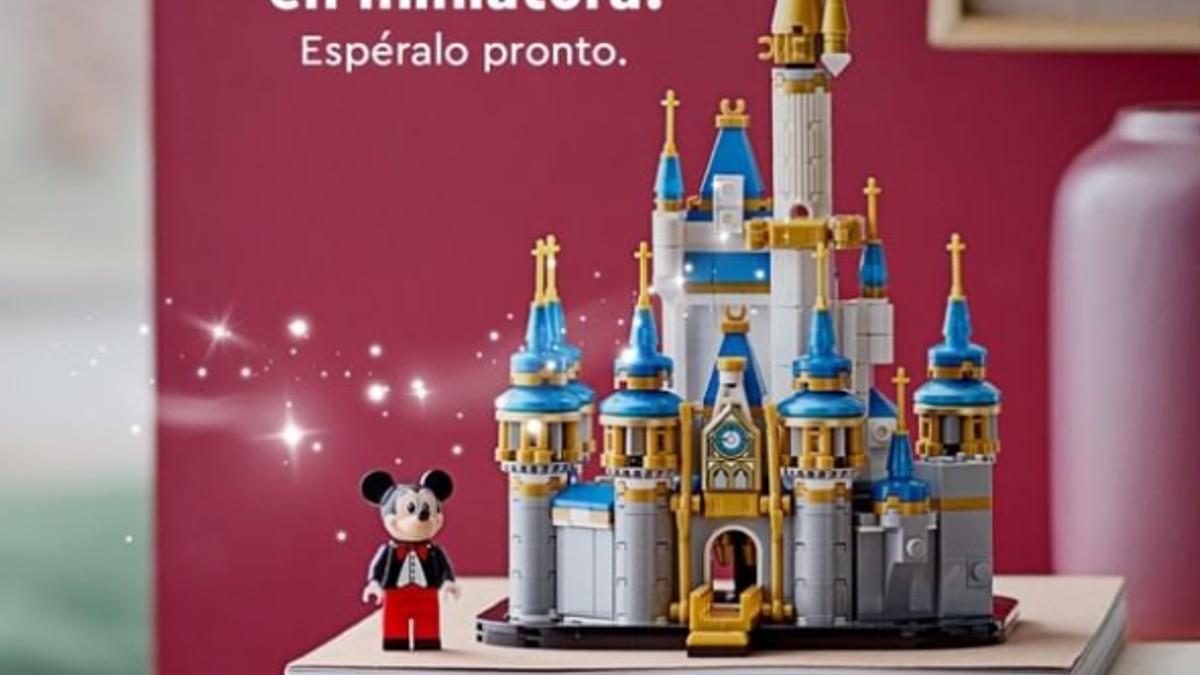 LEGO 40478 Mini Disney Castle Mexico Featured