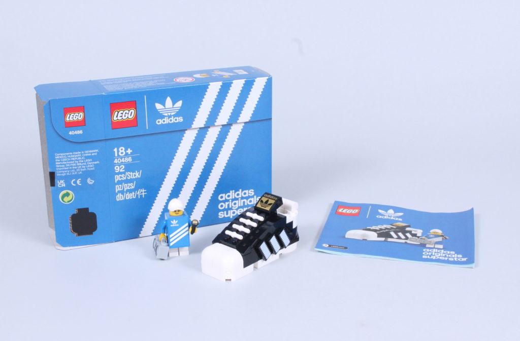 LEGO 40486 Adidas Originals Superstar review 1