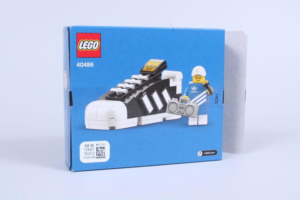 LEGO 40486 Adidas Originals Superstar review 21