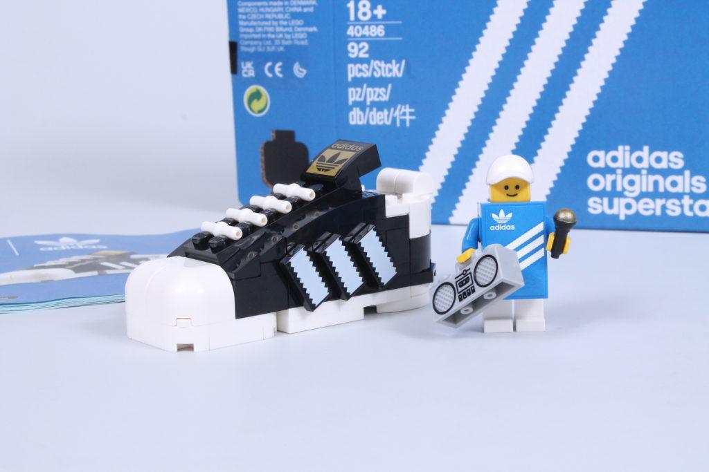 LEGO 40486 Adidas Originals Superstar review 3
