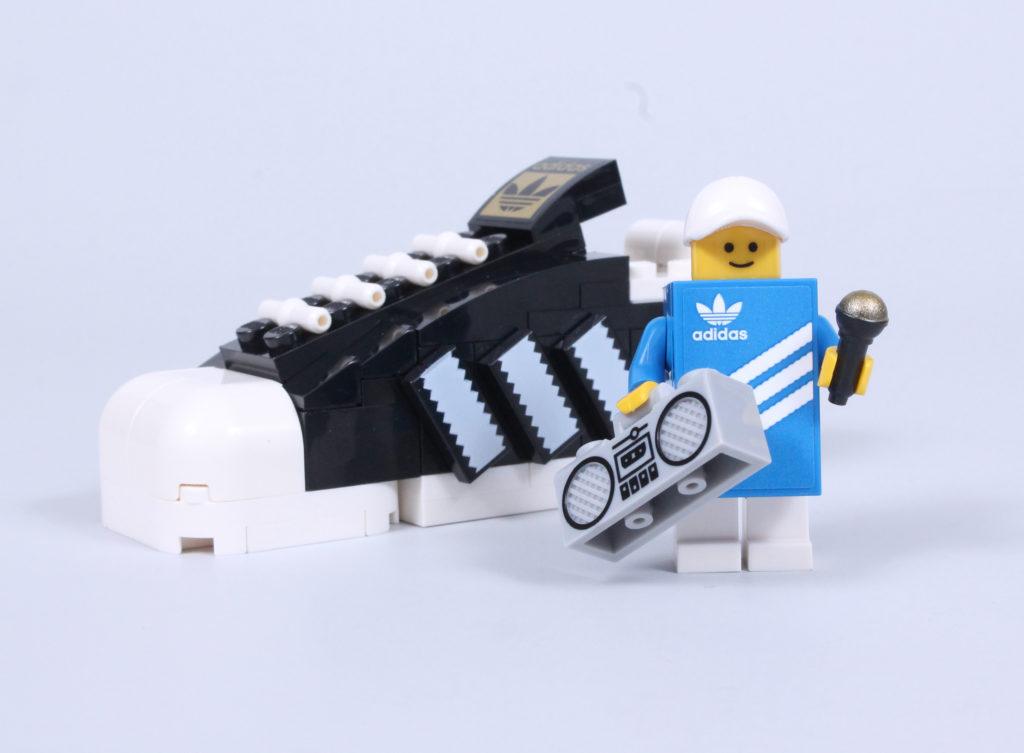 LEGO 40486 Adidas Originals Superstar review 5