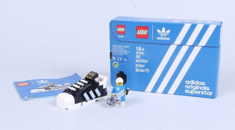 LEGO 40486 Adidas Originals Superstar review featured 2