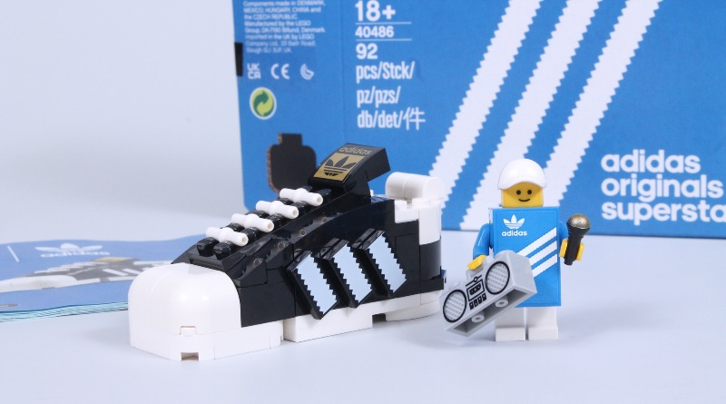 LEGO 40486 Adidas Originals Superstar Review Featured 3