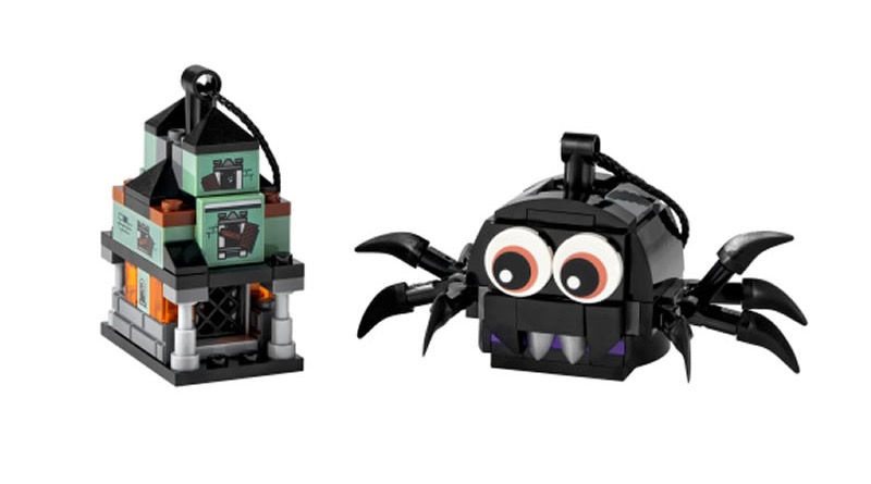 LEGO 40493 Spider Haunted House Pack Featured