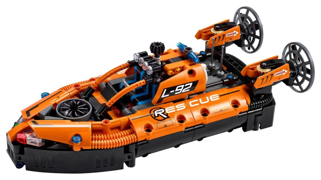LEGO 42120 Rescue Hovercraft Contents
