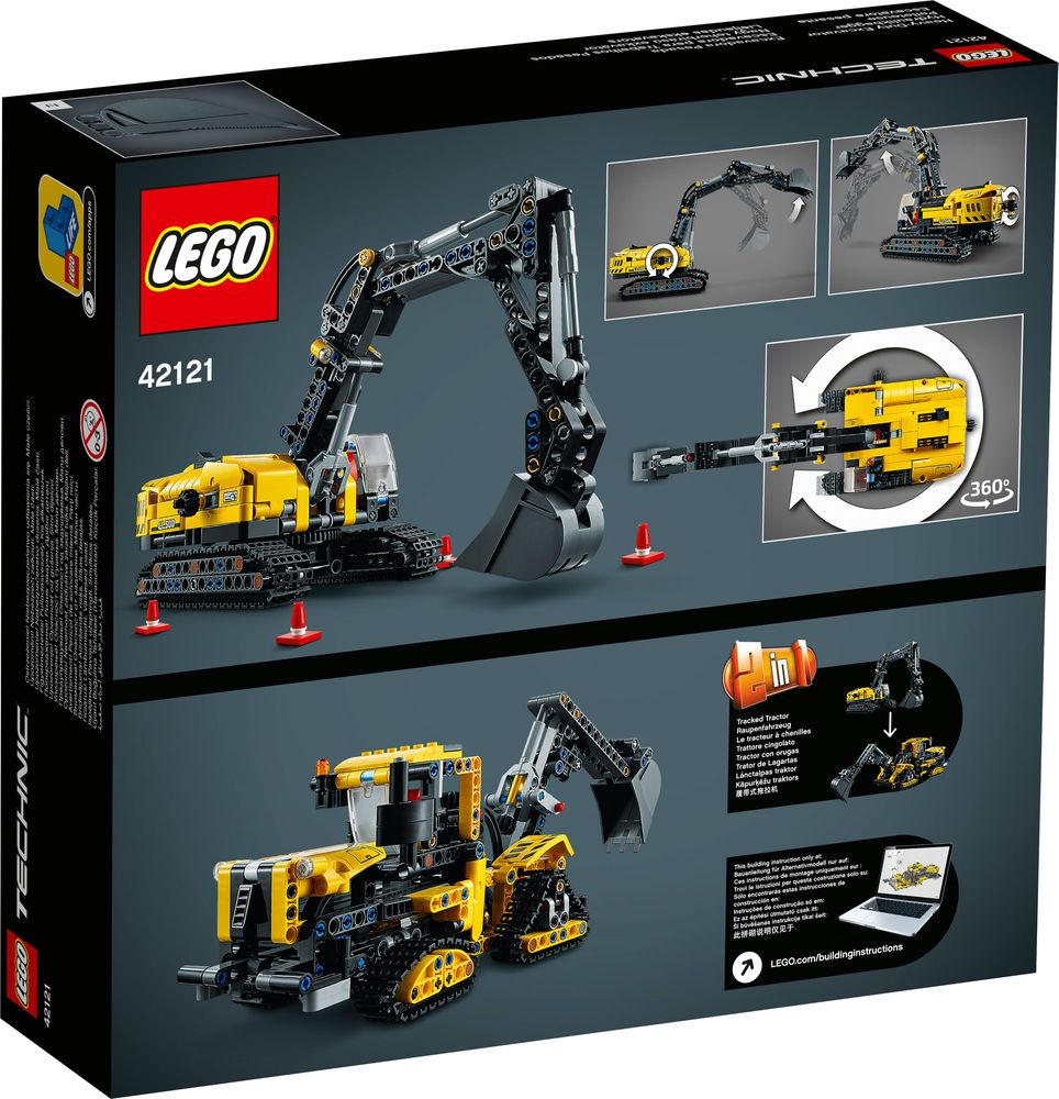 LEGO 42121 Box Back