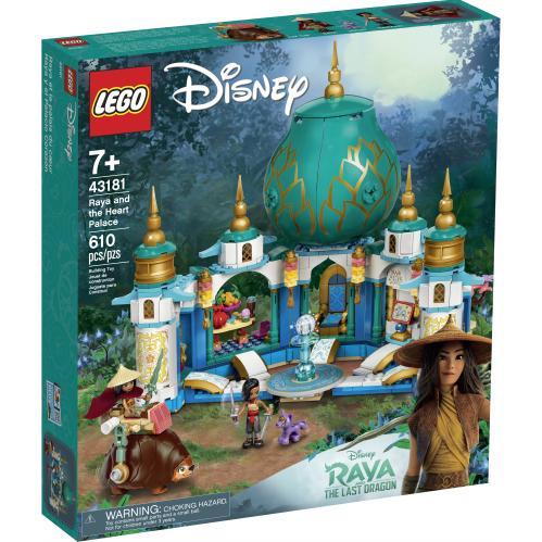 LEGO 43181 Raya And The Heart Palace Box