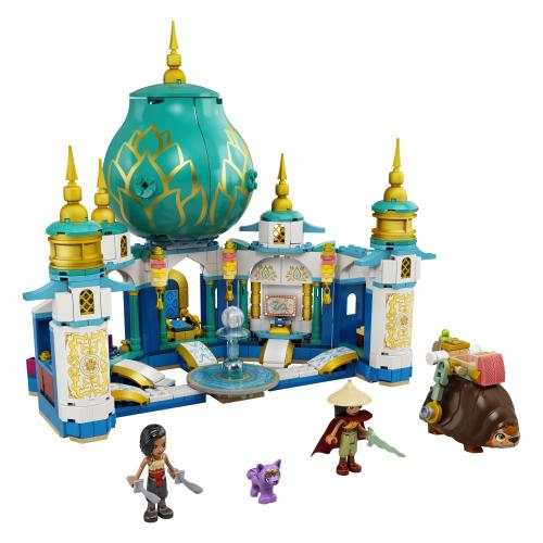 LEGO 43181 Raya And The Heart Palace Contents