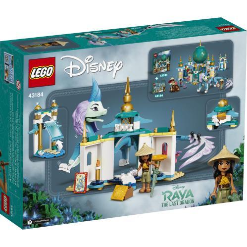 LEGO 43184 Raya And Sisu Dragon Box Back