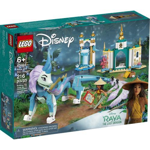 LEGO 43184 Raya And Sisu Dragon Box