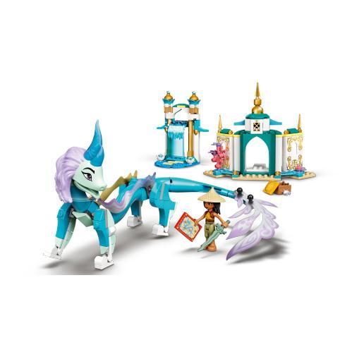 LEGO 43184 Raya And Sisu Dragon Contents
