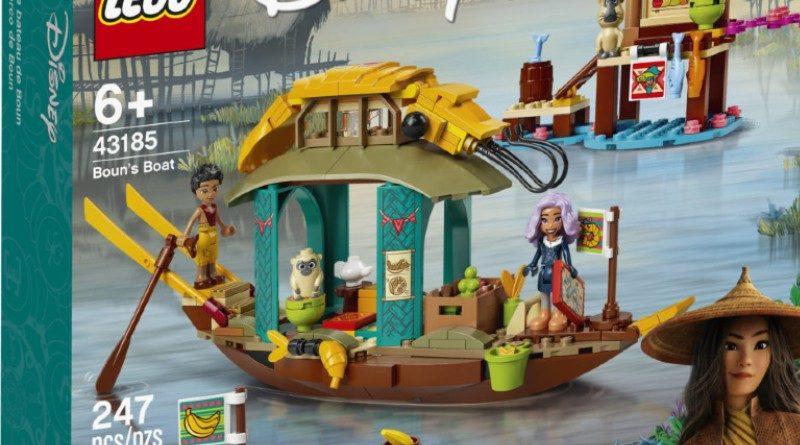 LEGO 43185 Raya Disney Featured 800x445