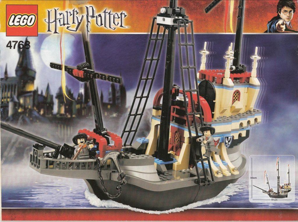 LEGO 4768 Harry Potter Durmstrang ship