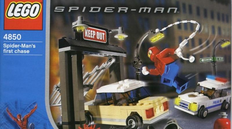 LEGO 4850 Spider Man Featured