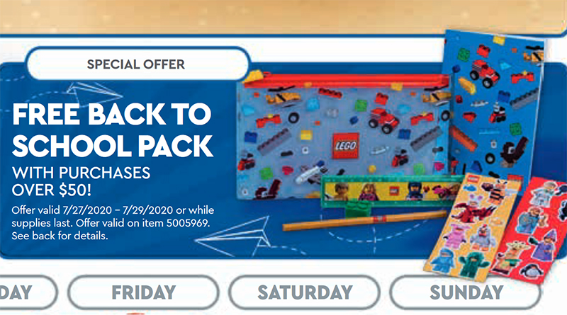LEGO 5005969 Back To School Pack Featured