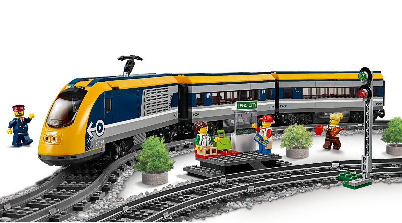 LEGO 60197 Passenger train featured