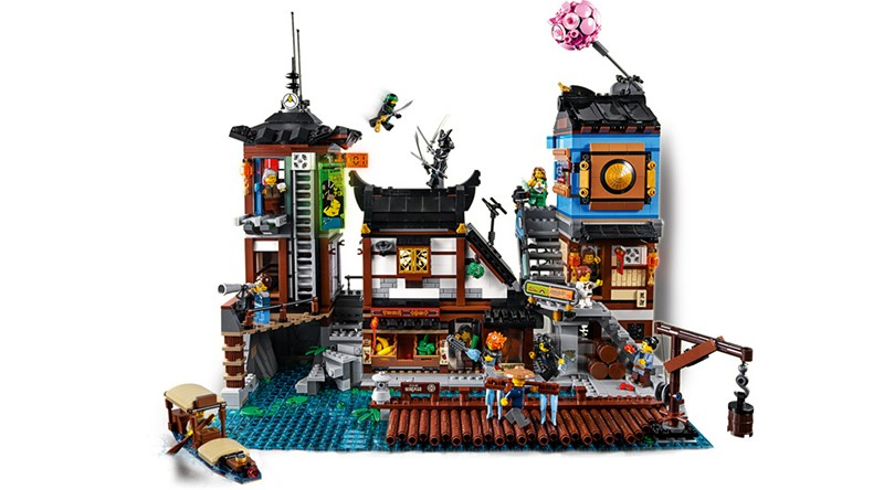 LEGO 70657 NINJAGO City Docks Featured