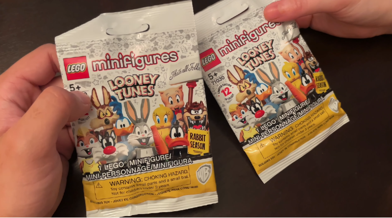LEGO 71030 Looney Tunes Collectible Minifigures first look featured