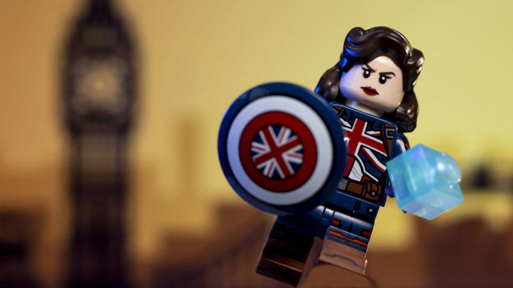 LEGO 71031 Marvel Studios Captain Carter 2