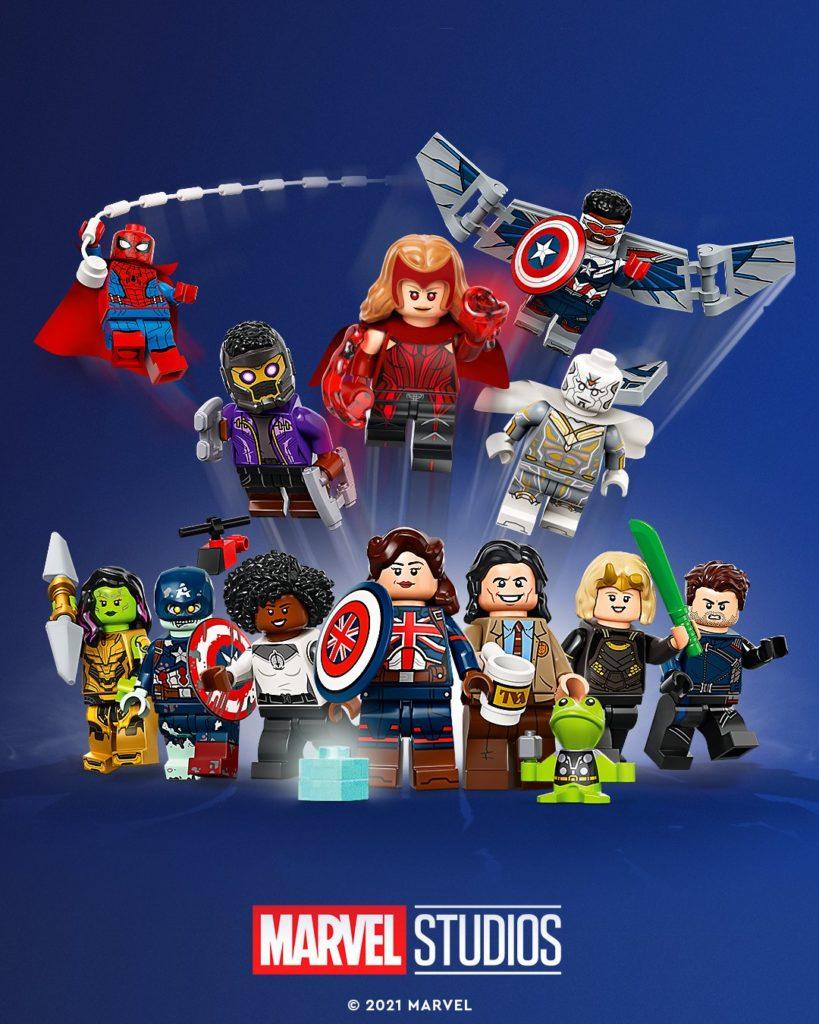 LEGO 71031 Marvel Studios Collectible Minifigures art 1
