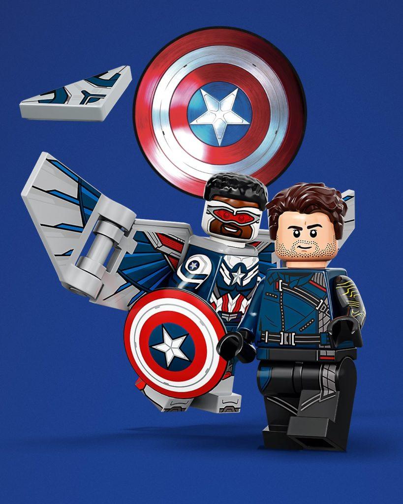 LEGO 71031 Marvel Studios Collectible Minifigures art 2