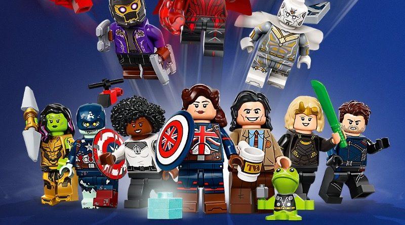 LEGO 71031 Marvel Studios Collectible Minifigures art featured