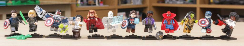 LEGO 71031 Marvel Studios Collectible Minifigures review 1