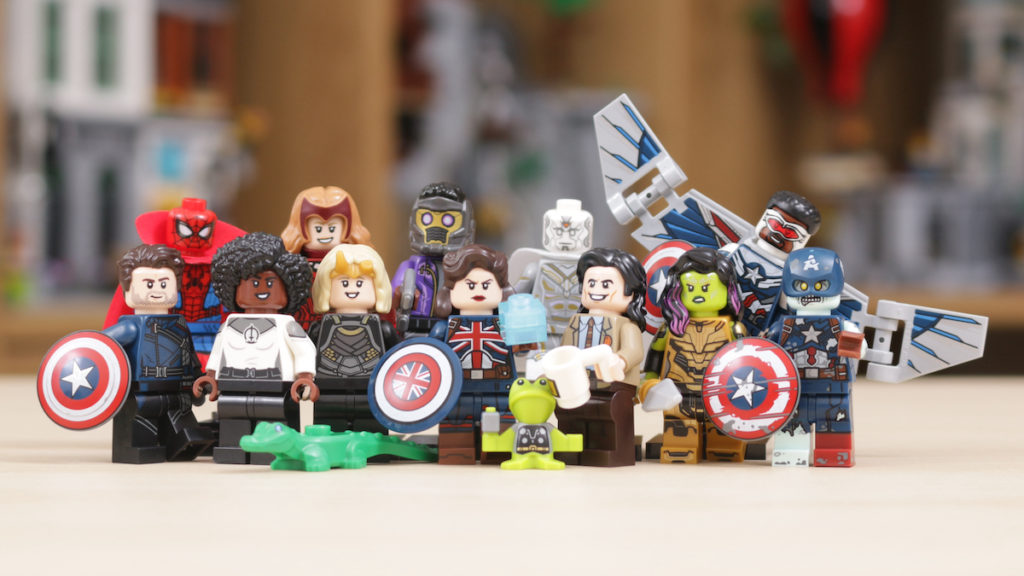 LEGO 71031 Marvel Studios Collectible Minifigures review title