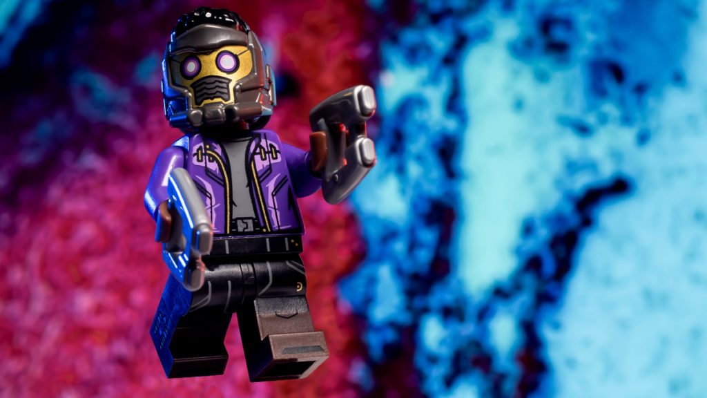 LEGO 71031 Marvel Studios TChalla Star Lord action shot 1 featured