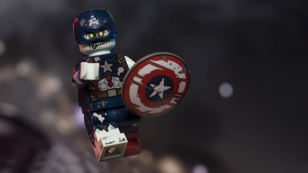 LEGO 71031 Marvel Studios Zombie Captain America 2