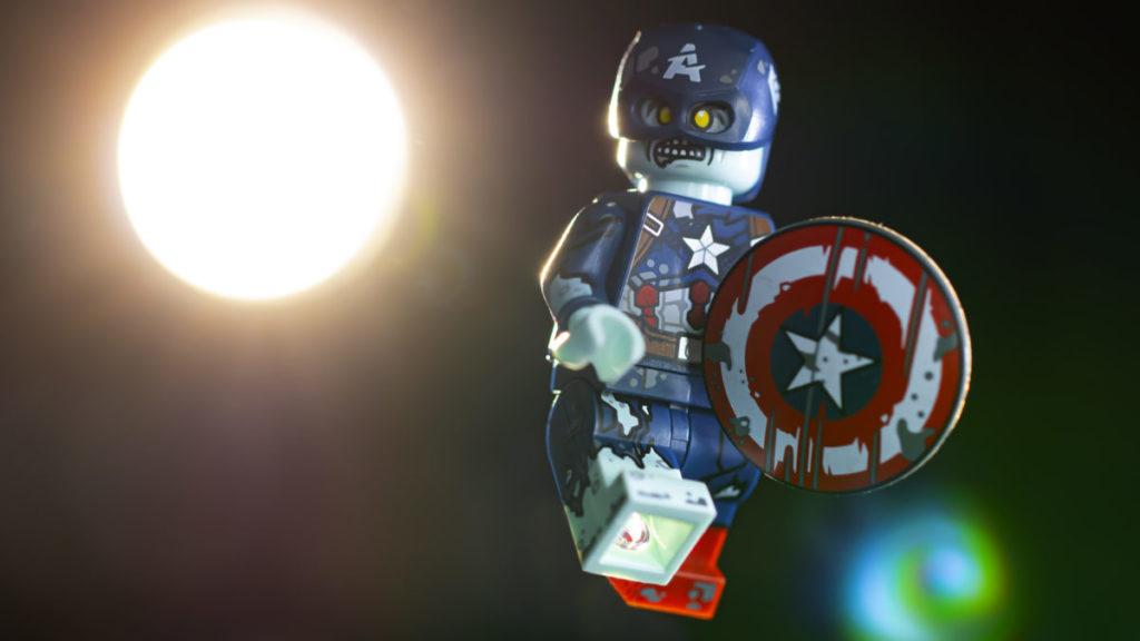 LEGO 71031 Marvel Studios Zombie Captain America 3