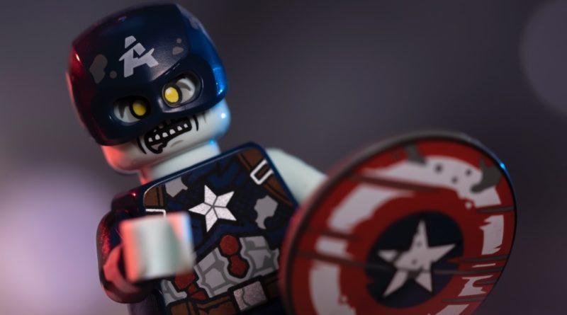LEGO 71031 Marvel Studios Zombie Captain America featured