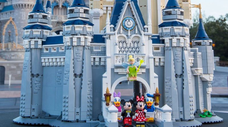 LEGO 71040 The Disney Castle in Disney World lifestyle resized featured
