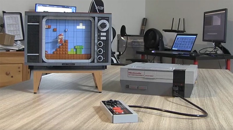 LEGO 71374 NES Timelapse Featured