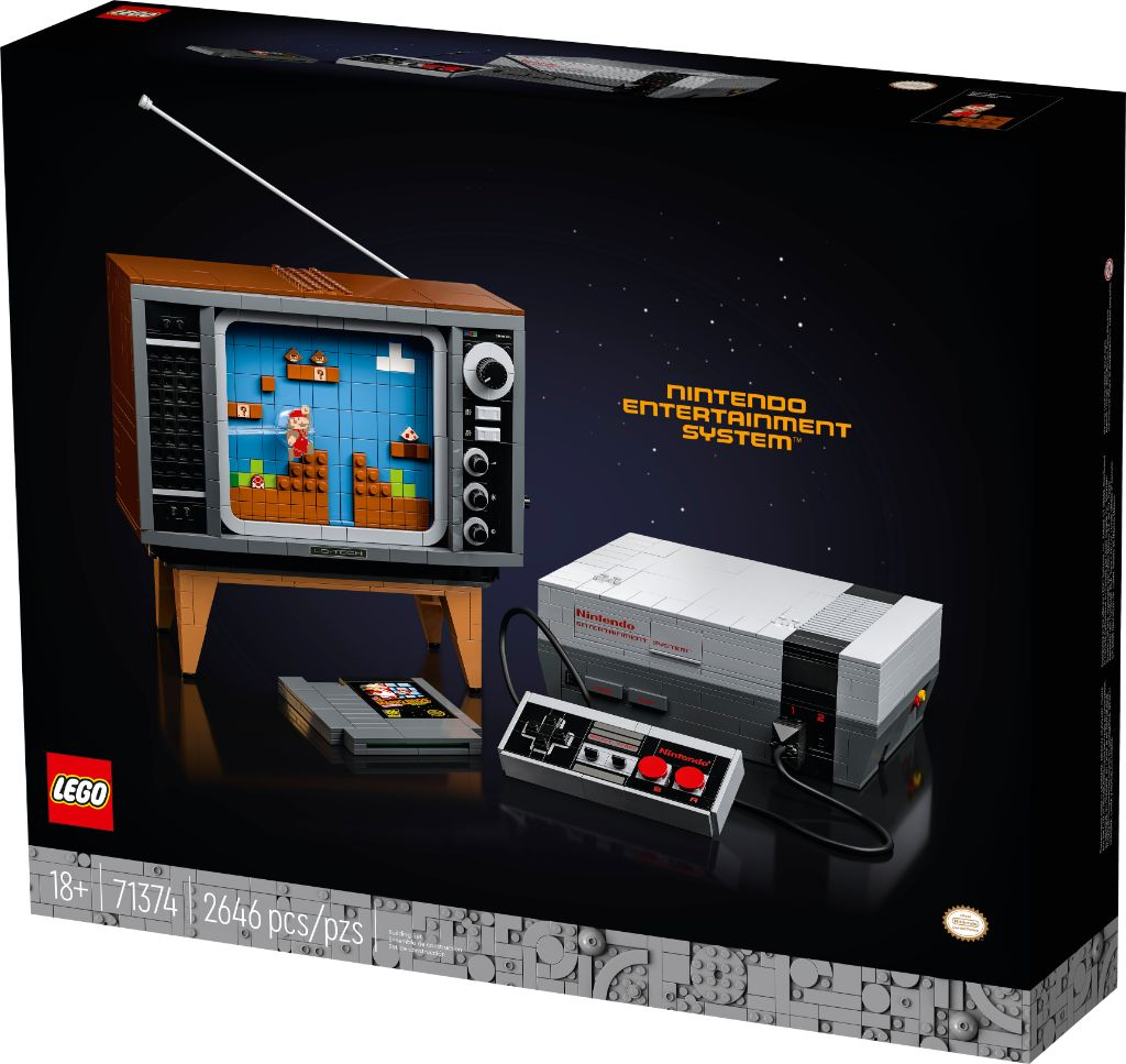 LEGO 71374 Nintendo Entertainment System NES 14